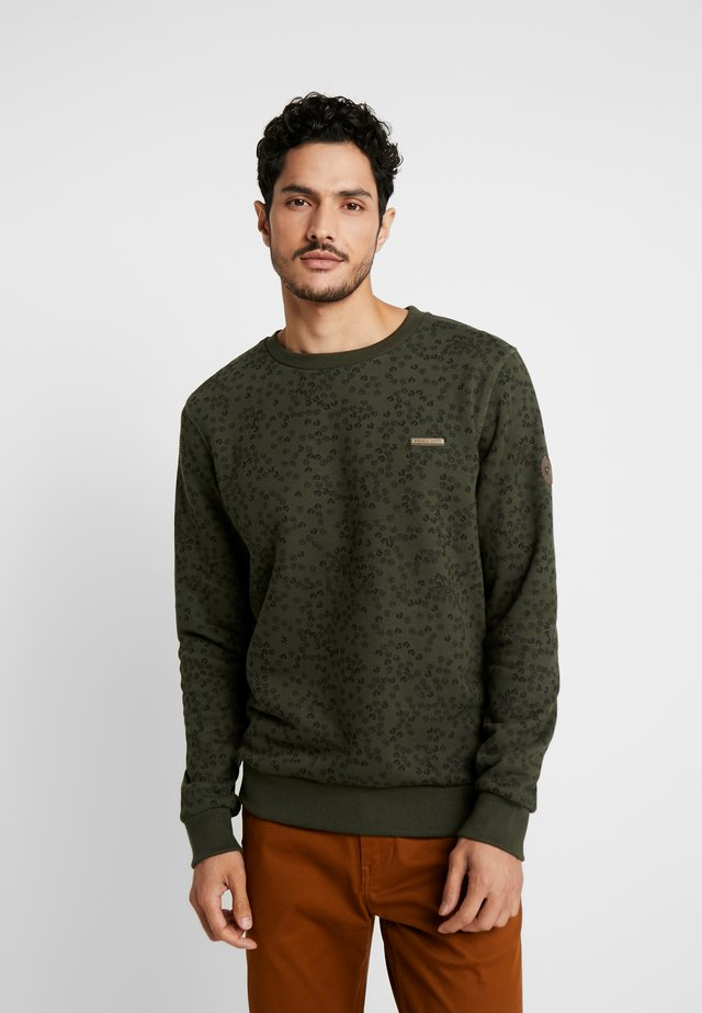 INDIE LOGO - Sweater - olive