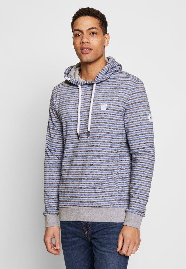 TOTTE PRINT - Jersey con capucha - light grey