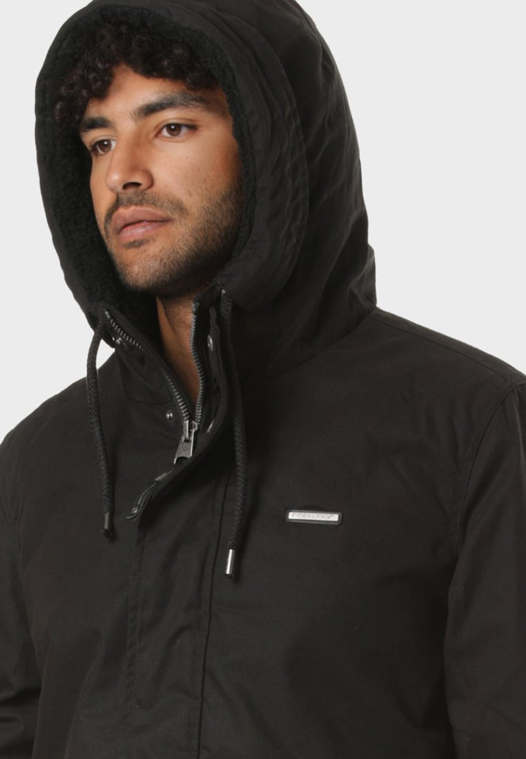 Mr Black Ragwear Ragwear SmithVeste D'hiver Black SmithVeste Ragwear Mr D'hiver bf6y7g
