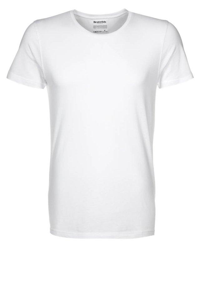 ORIGINAL ROUNDNECK - T-shirt - bas - weiß
