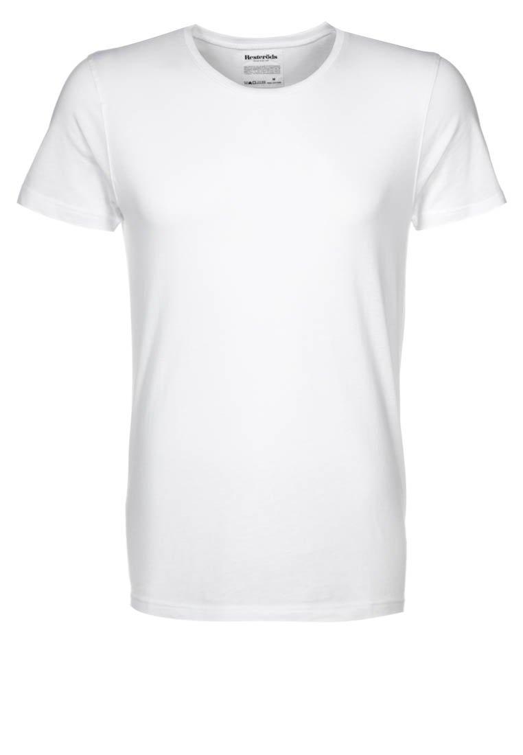 Resteröds - ORIGINAL ROUNDNECK - T-shirt - bas - weiß