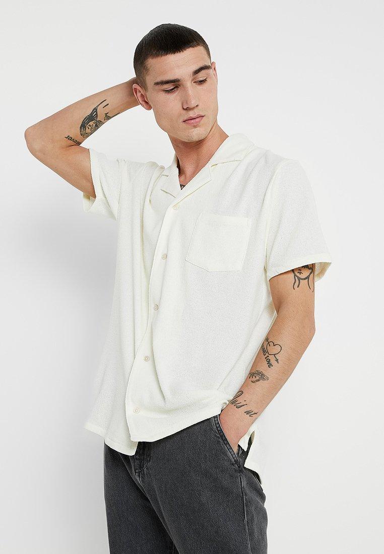 Resteröds - RESORT SHIRT TERRY - Shirt - off white