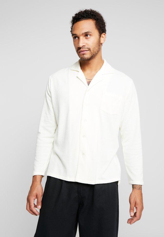 RESORT TERRY - Hemd - optic white