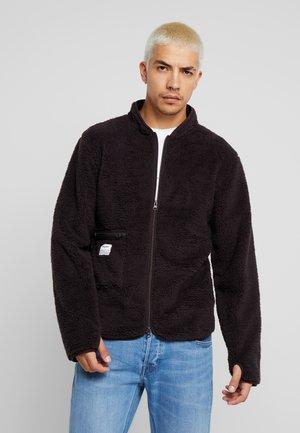 Summer jacket - black coffé