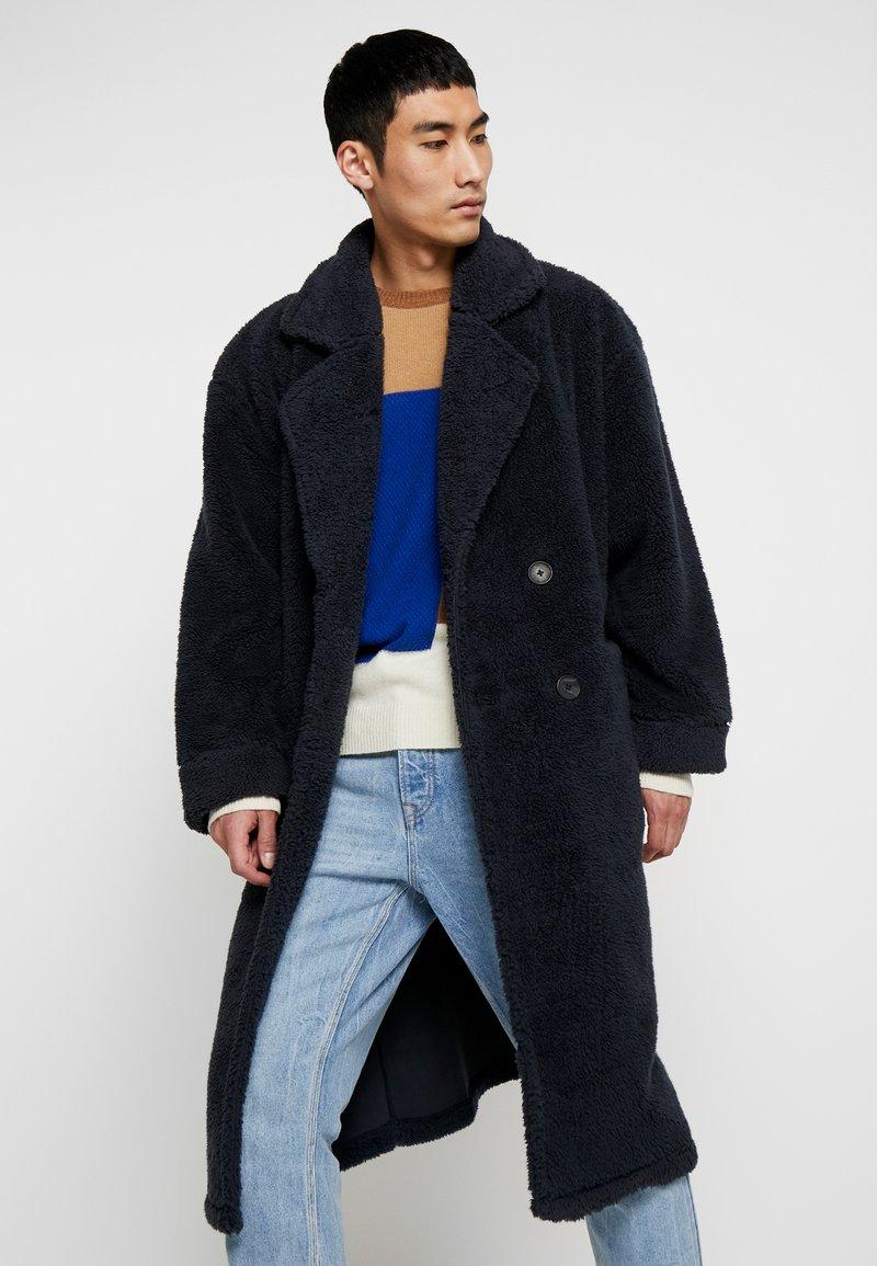 Resteröds - COAT - Classic coat - midnight navy