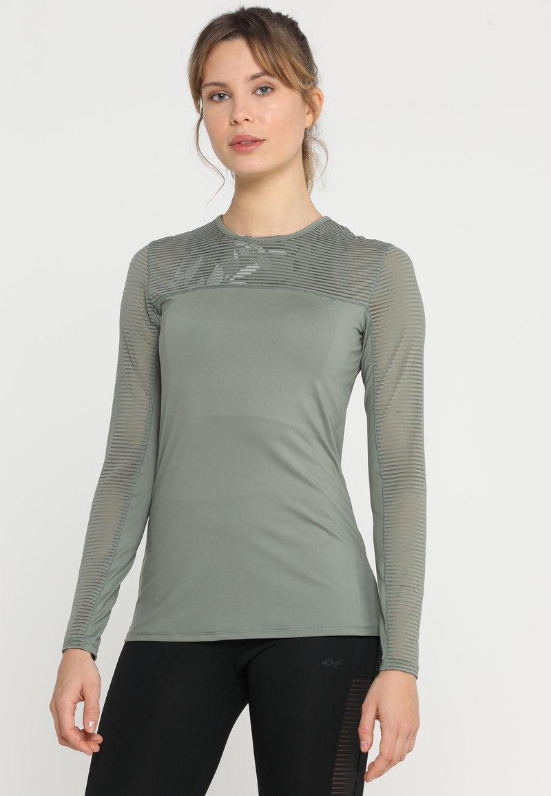 Röhnisch - MIKO - Langærmede T-shirts - combat green