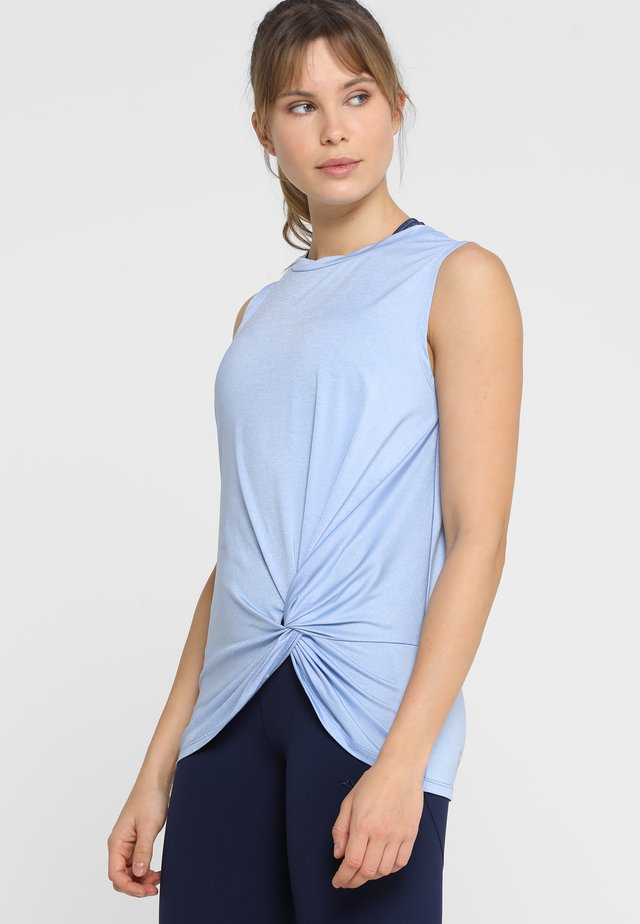 KNOT SINGLET - Top - light blue