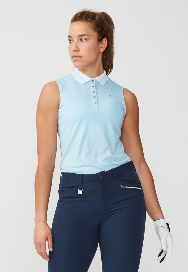 Polo shirt - cool blue