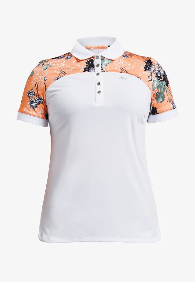 ELEMENT BLOCK  - Poloshirt - hermosa cantaloupe