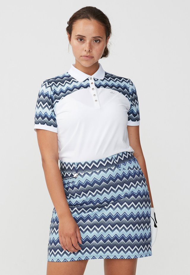 ELEMENT BLOCK  - Poloshirt - zigzag blue