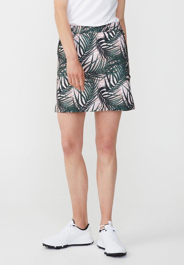 KIA  - Sports skirt - palm pale pink