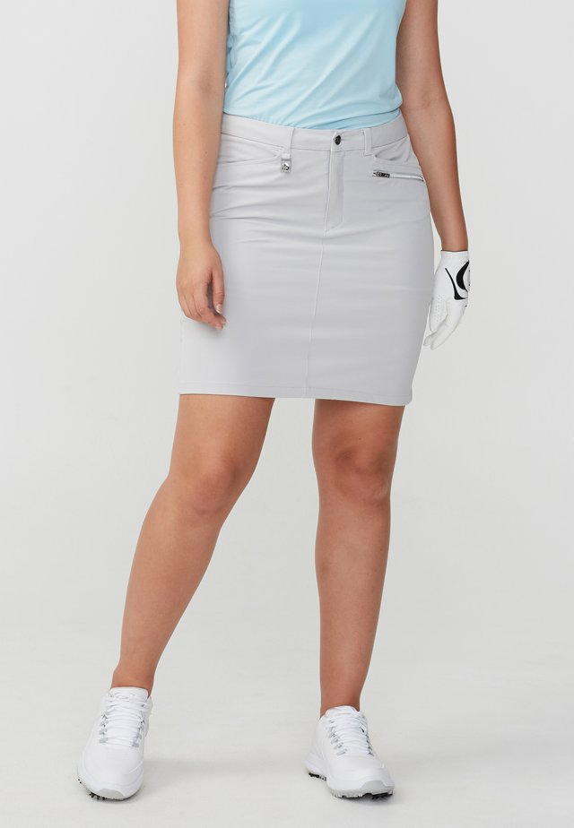 Sports skirt - silver gray