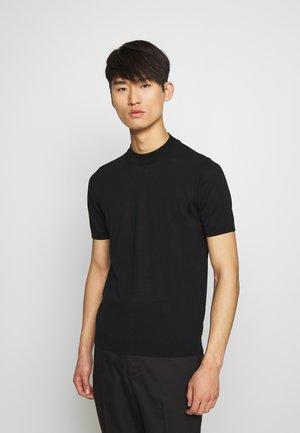 TURTLE NECK - T-shirt basic - nero