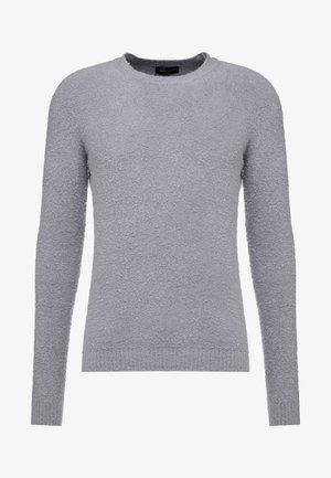 CREW NECK - Strickpullover - grey