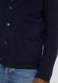 Roberto Collina - CARDIGAN - Cardigan - navy - 5
