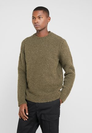 CREW NECK  - Jumper - olive