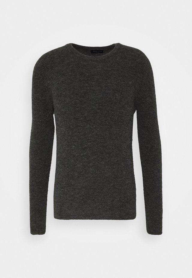 GIROCOLLO - Stickad tröja - antracite