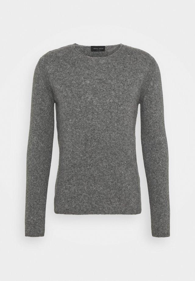 GIROCOLLO - Stickad tröja - grigio medio