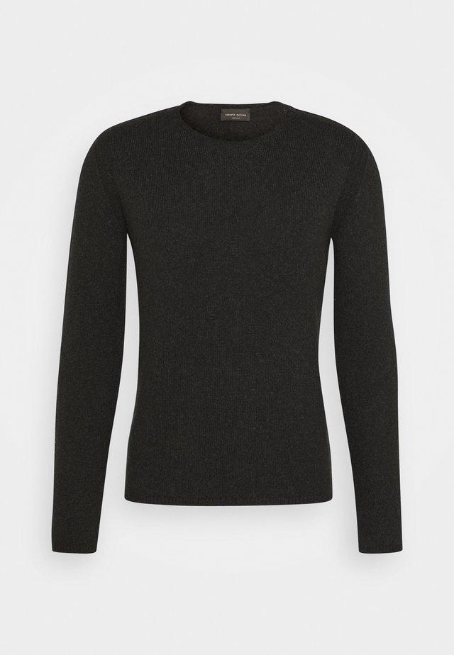 GIROCOLLO - Stickad tröja - nero