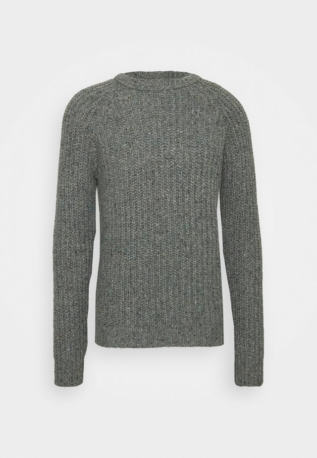 GIROCOLLO COSTA PANNOCCHIA - Stickad tröja - grigio medio