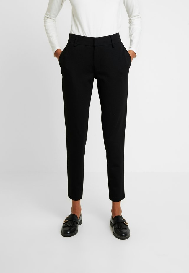 SOFIA PANT - Chinosy - black