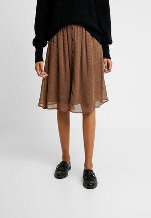 CLARA SKIRT - Jupe trapèze - brown