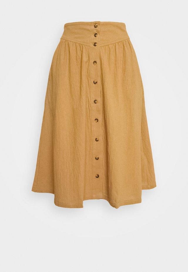 EMILY SKIRT - A-line skirt - chipmunk