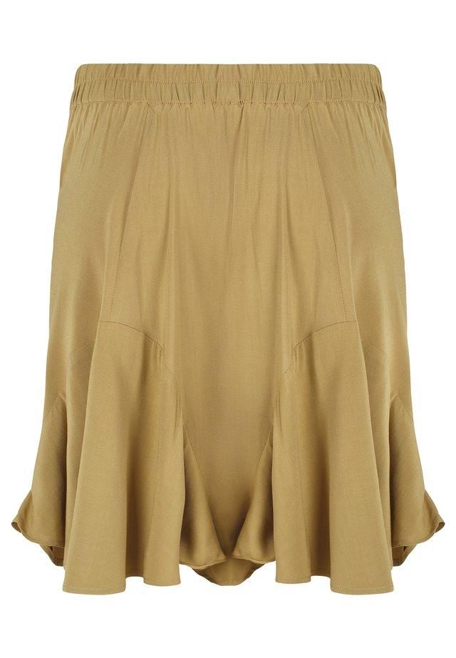 A-snit nederdel/ A-formede nederdele - 522 antique bronze
