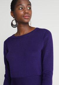 Soft Rebels - HENRIETTA DRESS - Stickad klänning - parachute purple - 5