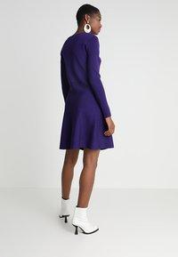Soft Rebels - HENRIETTA DRESS - Stickad klänning - parachute purple - 3
