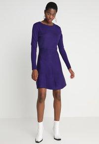 Soft Rebels - HENRIETTA DRESS - Stickad klänning - parachute purple - 2