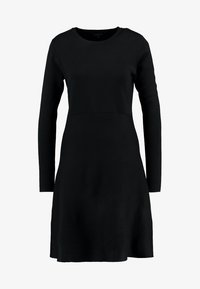 Soft Rebels - HENRIETTA DRESS - Stickad klänning - black - 4