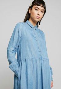 Soft Rebels - MOIRA LS DRESS - Paitamekko - dark blue - 4