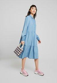 Soft Rebels - MOIRA LS DRESS - Paitamekko - dark blue - 2