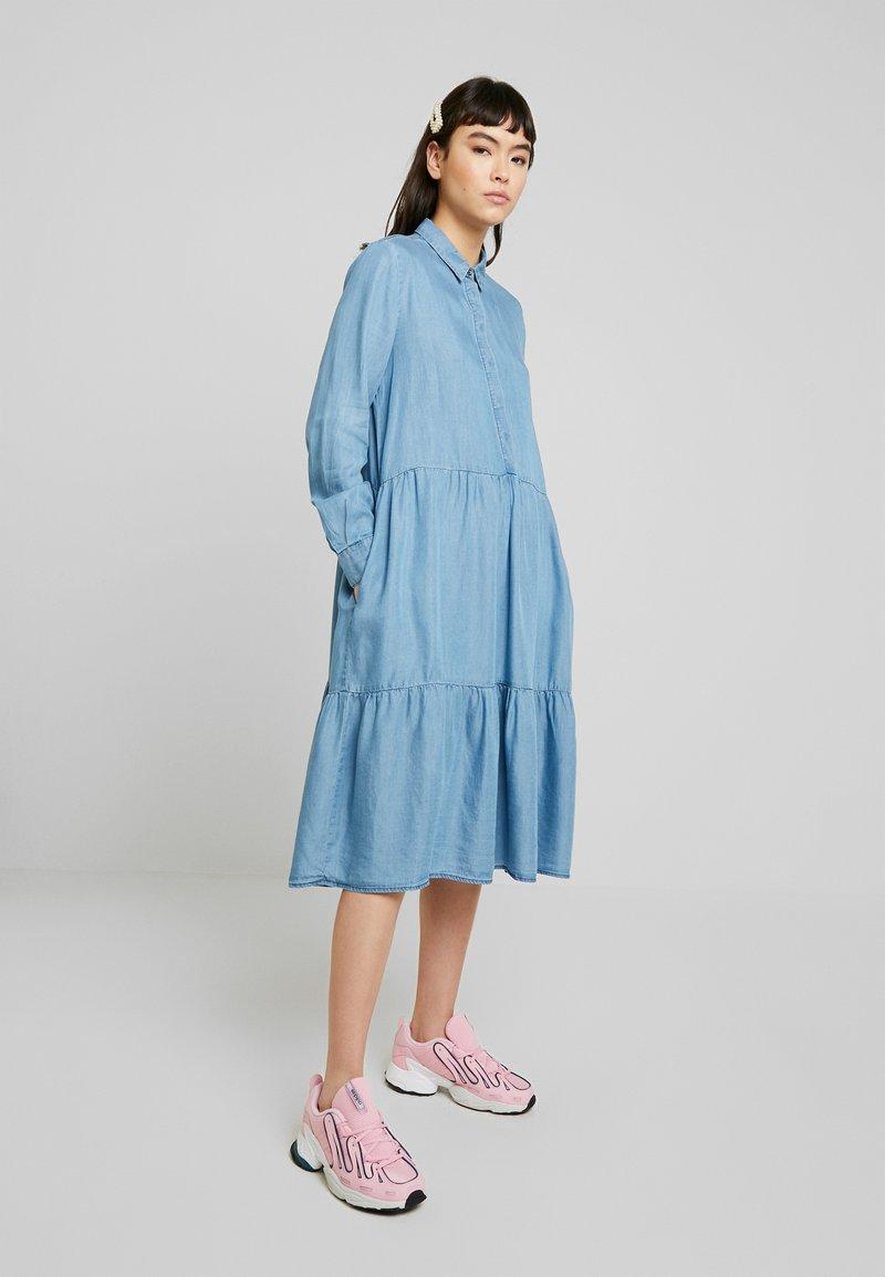 Soft Rebels - MOIRA LS DRESS - Paitamekko - dark blue