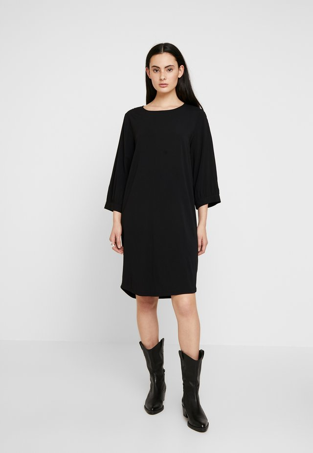 HAILEY DRESS - Korte jurk - black
