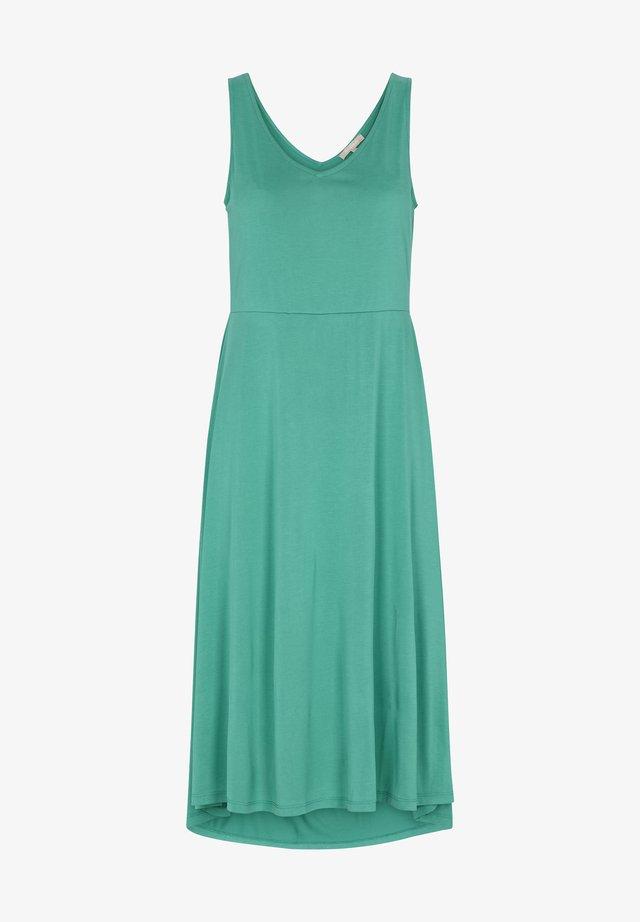 Korte jurk - emerald