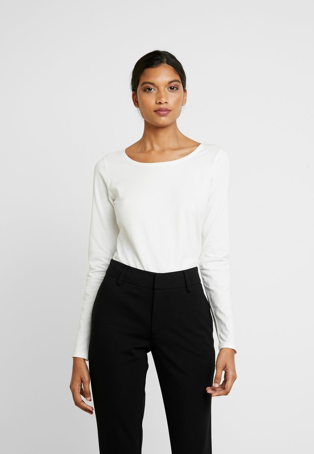 ELLE - Long sleeved top - snow white/off white
