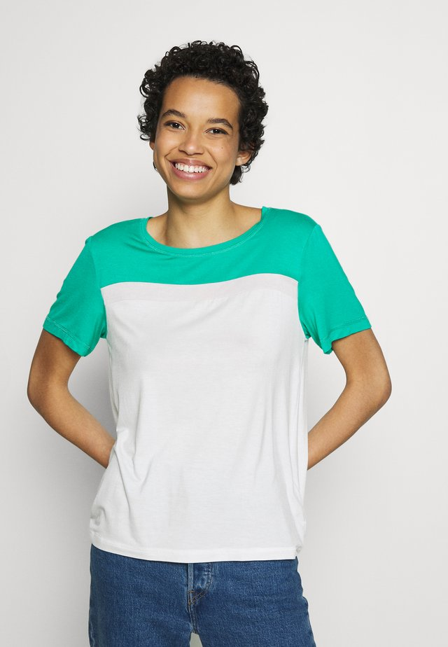 SPORT  - T-shirt con stampa - emerald