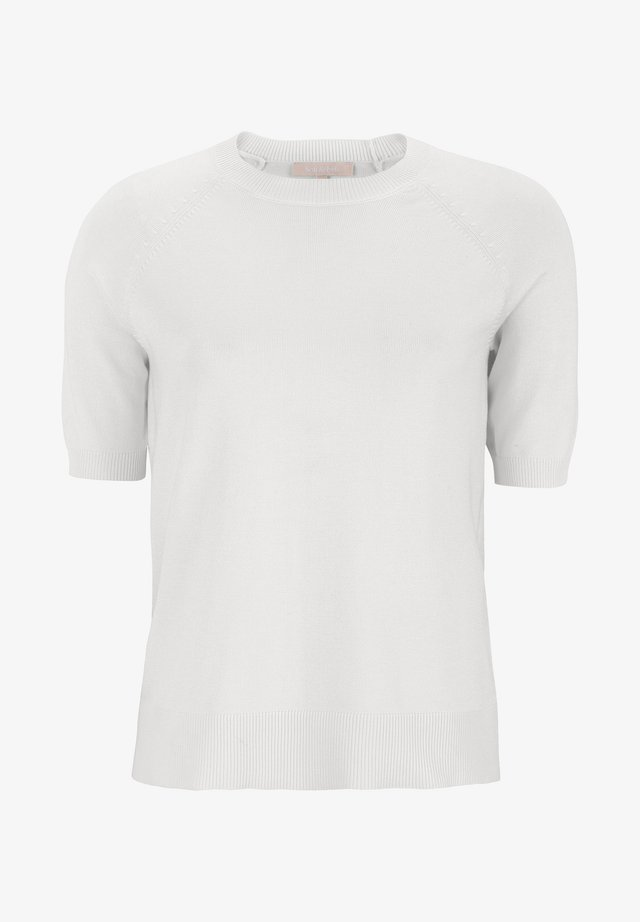 ZARA  - T-shirt basic - snow white/off white