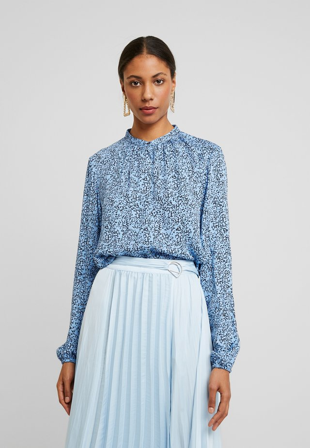 AVIAJA  - Button-down blouse - aviaja blue