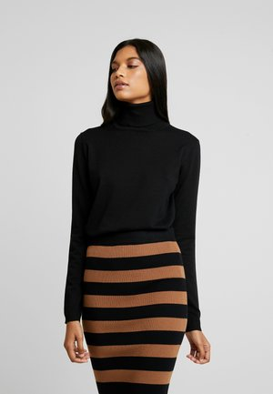 ZARA  - Strickpullover - black
