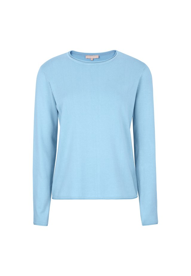 ZARA  - Strikpullover /Striktrøjer - 241 cashmere blue