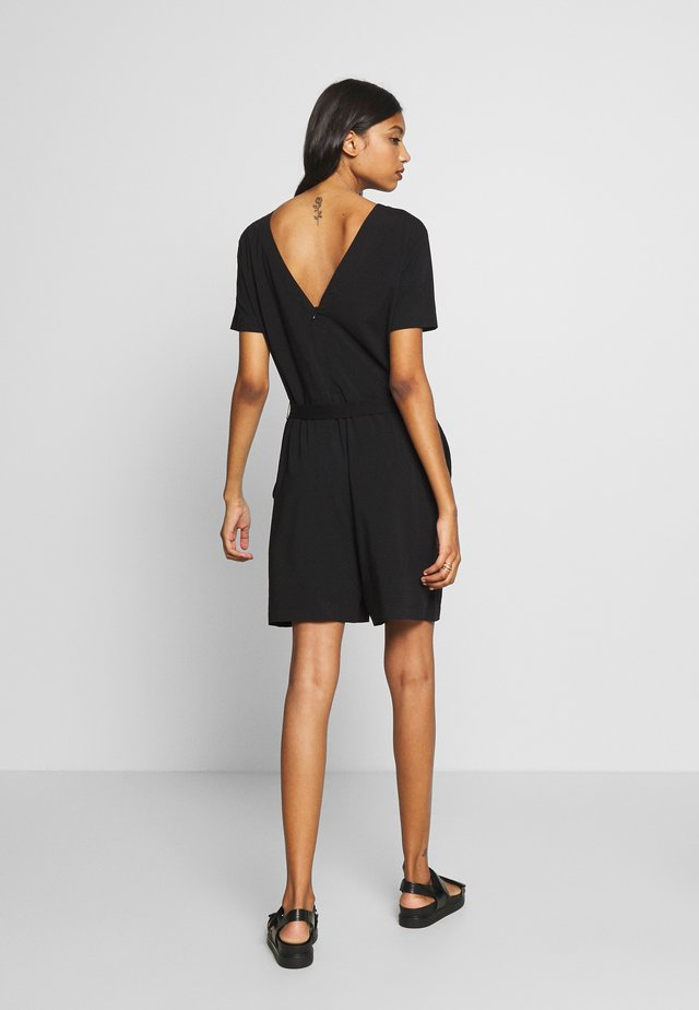 KATRINA PLAYSUIT - Kombinezon - black