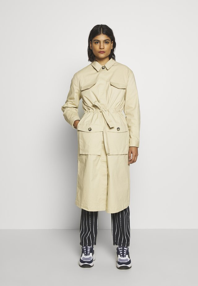 SILJE LONG COAT - Trenssi - warm sand