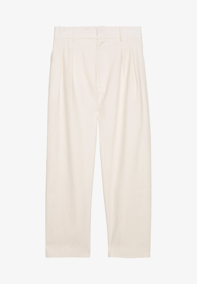 DIANE PANTS - Tygbyxor - offwhite