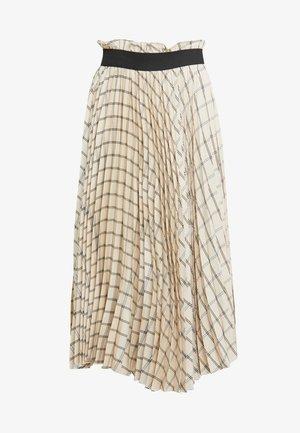BENTE SKIRT - Áčková sukně - ivory