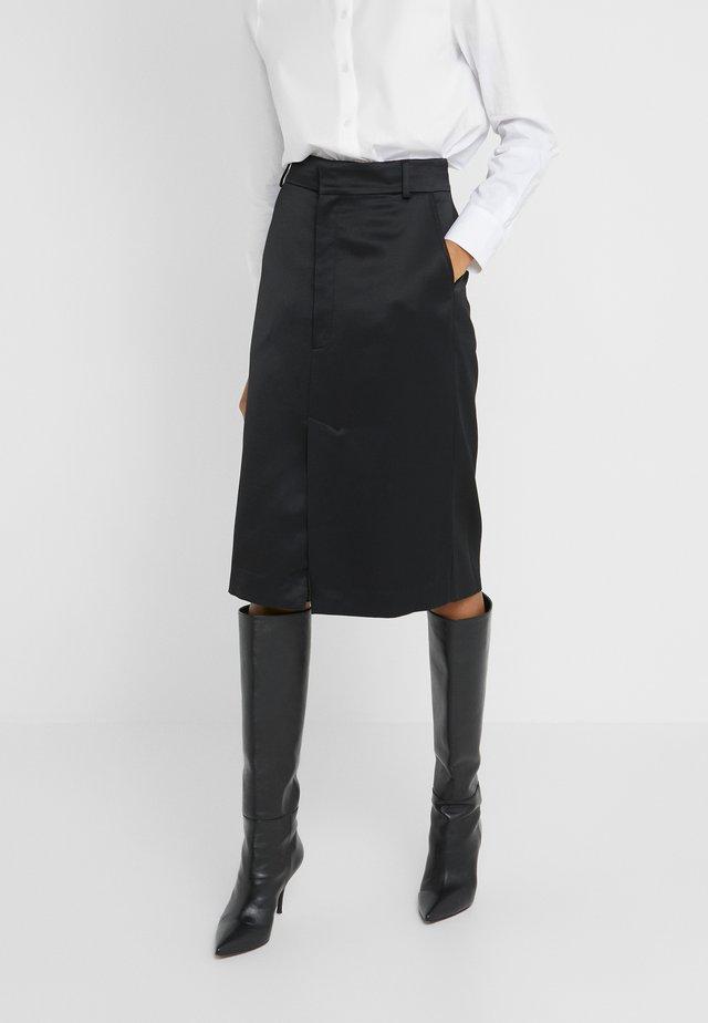 JACK SKIRT - Pencil skirt - black