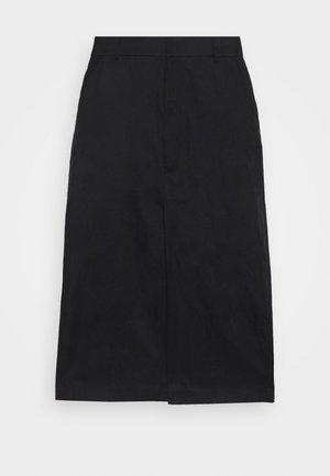 RAY SKIRT - A-line skirt - black