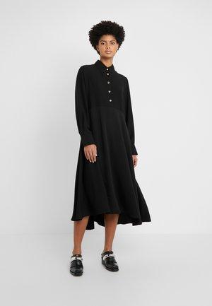 ROSA DRESS - Vestido camisero - black